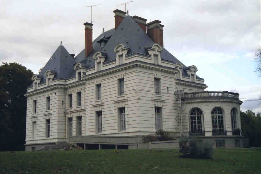 chateau, de, bellfontaine, panoramio